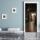 "Türtapete ""Dunkle Gasse"", Türposter, selbstklebend 2050 x 880 mm"