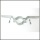 Schild, lange Befestigung, Halterung, Schelle, Schilderschelle für Rundrohr, Rohrschelle, Ø 60 mm Rohr