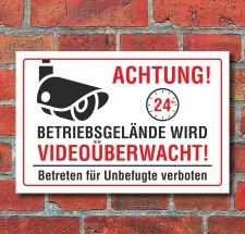 """Schild """"Betriebsgelände..."""