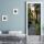 """Türtapete """"Pflanzen, Altstadt, Urlaub, Treppe"""", Türposter, selbstklebend 2050 x 880 mm"""