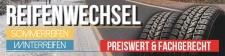 PVC Werbebanner Plane Reifenwechsel Sommerreifen...