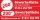 """PVC Werbebanner Banner Plane """"Gewerbefläche zu vermieten"""" mit Ösen,"""