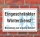 Schild Eingeschränkter Winterdienst, Benutzung auf eigene Gefahr, 3 mm Alu-Verbund
