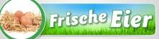 """PVC Werbebanner Banner Plane """"Frische Eier""""..."""