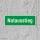 Notaustieg Rettungswegschild Schild Nachleuchtend ASR A1.3 - 300x100mm