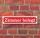 """Schild im Straßenschild-Design """"Zimmer Belegt"""" - 3 mm Alu-Verbund - 52 x 11 cm"""