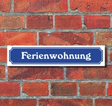Schild im Straßenschild-Design...