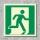 Notausgang rechts Rettungszeichen Rettungswegschild Schild Nachleuchtend ASR A1.3