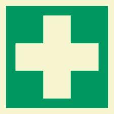 Erste Hilfe Rettungszeichen Rettungswegschild Schild...