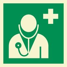 Arzt Rettungszeichen Rettungswegschild Schild...