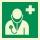 Arzt Rettungszeichen Rettungswegschild Schild Nachleuchtend ASR A1.3