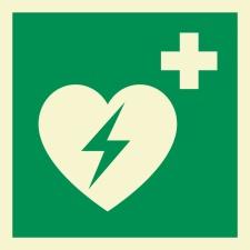 AED Rettungszeichen Rettungswegschild Schild...