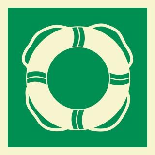 Rettungsausrüstung Rettungszeichen Rettungswegschild Schild Nachleuchtend ASR A1.3