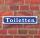 """Schild im Straßenschild-Design """"Toiletten"""", 3 mm Alu-Verbund - 52 x 11 cm"""