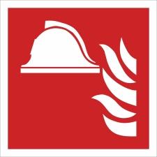 Geräte Brandbekämpfung Brandschutzzeichen...