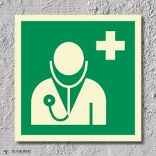 Arzt Rettungszeichen Rettungswegschild Aufkleber...