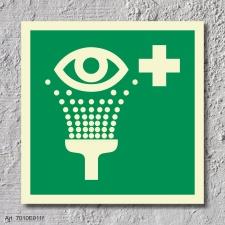 Augenspüleinrichtung Rettungszeichen...
