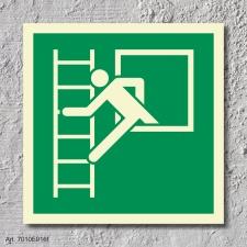 Notausstieg Rettungszeichen Rettungswegschild Aufkleber Nachleuchtend ASR A1.3