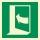 Drücken links Rettungszeichen Rettungswegschild Aufkleber Nachleuchtend ASR A1.3