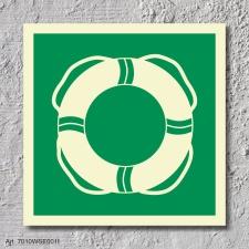 Rettungsausrüstung Rettungszeichen Rettungswegschild Aufkleber Nachleuchtend ASR A1.3