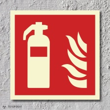Feuerlöscher Brandschutzzeichen Symbol Aufkleber...