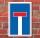 Schild Sackgasse Privatweg Durchfahrt verboten wetterfest 3mm Alu-Verbund