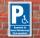 Schild Behinderten Parkplatz Rollstuhl Fahrer Parkverbot Halteverbot Dummheit