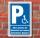 Schild Behinderten Parkplatz Rücksicht Rollstuhl Fahrer Park verbot Alu-Verbund