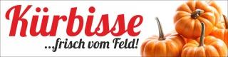 """PVC Werbebanner Banner Plane """"Kürbisse"""" mit Ösen"""
