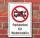 Schild Parkverbot Wohnmobile parken verboten Halteverbot 3 mm Alu-Verbund
