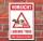 Schild Lebende Tiere Abstand halten Tiertransport Warnschild 3 mm Alu-Verbund