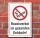 Schild Rauchverbot im gesamten Gebäude Rauchen verboten 3 mm Alu-Verbund