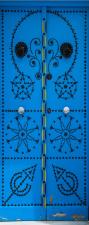 Türtapete Tür orientalisch Orient Urlaub blau selbstklebend 2050 x 880 mm
