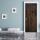Türtapete Türposter Eisentür rostig alt rustikal, selbstklebend 2050 x 880 mm