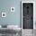 Türtapete Türposter Türfolie Eisentür alt rustikal, selbstklebend 2050 x 880 mm