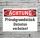 Schild Achtung Privatgrundstück Betreten verboten Hinweisschild 3 mm Alu-Verbund