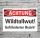 Schild Achtung Wildtollwut Gefährderter Bezirk Hinweisschild 3 mm Alu-Verbund