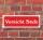 """Schild im Straßenschild-Design """"Vorsicht Stufe"""" 30 x10 cm Alu-Verbund"""