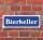 """Schild im Straßenschild-Design """"Bierkeller"""" 30 x10 cm Alu-Verbund"""