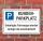 Schild Kundenparkplatz Privatparkplatz Parkverbot zerlegen 3 mm Alu-Verbund