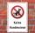 Schild Keine Hundewiese Hundeklo Hundekot Wiese Hundehaufen 3 mm Alu-Verbund