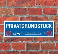 Schild Privatgrundstück Parken verboten Parkschild...