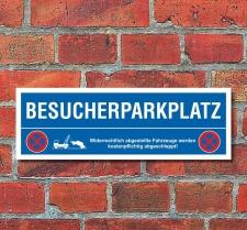 Schild Besucherparkplatz Parkverbot Parkschild Parkplatz...