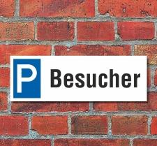 Schild Besucher Kunden Gäste Privatparkplatz...