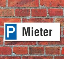Schild Mieter Anwohner Parkverbot Halteverbot...