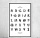 Vintage Shabby Holzschild Dekoschild Alphabet Buchstaben Geburtstag Geschenk