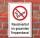 Schild Rauchverbot im Treppenhaus Rauchen verboten Hinweis 3 mm Alu-Verbund