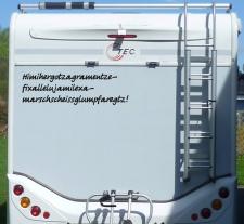 Aufkleber Himihergotzagramentze Wohnmobil Wohnwagen...