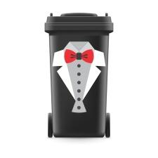Mülltonnenaufkleber Mülltonne Mülleimer...