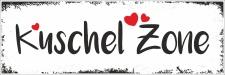 Vintage Shabby Holzschild Kuschel Zone kuscheln Geschenk...